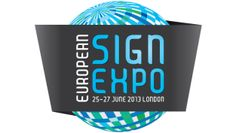European Sign Expo - 25-27 June 2013 - ExCeL Centre, London, England -  http://www.fespa.com/eurosignexpo/ ------------------------------------------------------------------------------------------------------------------------------------------  This exciting new exhibition will be the only international event purely focused on the sign industry in 2013. Sign producers from across the UK and Europe will have the chance to see the latest solutions for channel lettering, illuminated displays…