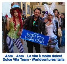 Dolce Vita Team vorrebbe che tu fossi qui con noi!
