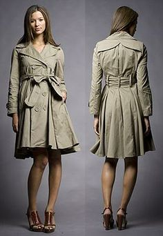 Be Cheap, Look Like a Million: Skirted Trench