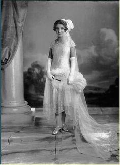 Miss Florence Vestey Jones - demoiselle d'honneur