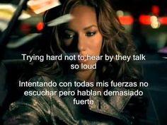 Leona Lewis Bleeding Love subtitulos español ingles