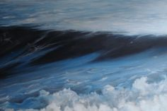 Withdrawing wave... Acryl on canvas