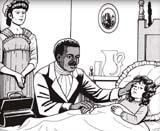 Before the Civil War there were both black men and black women nurses. In 1783, James Derham, a black nurse from New Orleans, was able to buy his freedom from slavery with the money he saved from working as a nurse. He later went on to become a well known physician in Philadelphia. He is known for becoming the first black physician in America.