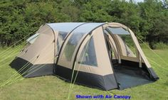 Kampa Southwold Air Canopy is very easy to set up and provides fully zipped roll up door windows. It is a great place to storing everying like stove and furniture etc.