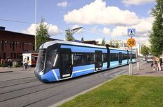 Light rail network in Tampere, Finland