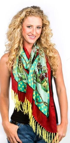 """Double D Ranch Spring 2015 """" Lucky Star Camp """"  Scarf! http://www.cowgirlkim.com/double-d-ranch-spring-2015-lucky-star-camp-scarf.html"""