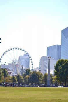 The ultimate travel guide to Downtown Atlanta. The best places to eat, stay, and go in the ATL.