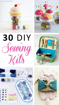 Need a new sewing kit? We have compiled a list of different 30 different DIY sewing kits that you can create from your home.