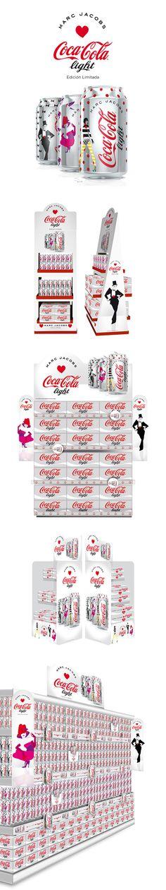 Coca-Cola light edición limitada Marc Jacobs on Behance