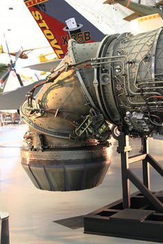 X-35 VSTOL nozzle-to see this in a operating state is to see a wonder of the world in engineering.