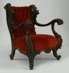 Image result for 1930's wood wing chair