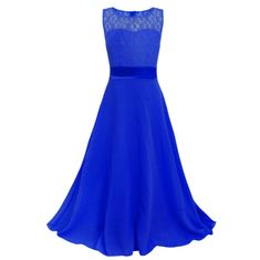 Cheap princess dress, Buy Quality 13 year old directly from China girl party dress Suppliers: Girl Lace Chiffon Long Princess Dress 2016 Summer Girls Party Dress Children kids Clothing Age 4 5 6 7 8 9 10 11 12 13 Years old