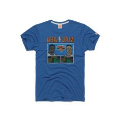 We're reaching deep into theNBA Jam catalogwith this duo: Patrick Ewing and John Starks. Though the New York Knicks twosome weren't featured in the original a