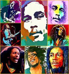 **Bob Marley** More fantastic collages, pictures, music and videos of *Bob Marley* on: https://de.pinterest.com/ReggaeHeart/ ©Juanca Ravelo/ http://juancaravelo.tumblr.com/