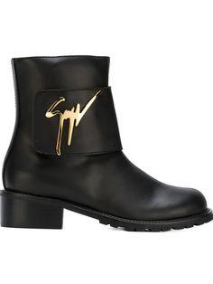 brand new 06dfc 579b5 Giuseppe Zanotti Design signature combat boots Giuseppe Zanotti Boots,  Giuseppe Zanotti Design, Black Army