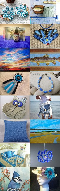 True Blue Gifts  by Anne A. Foster on Etsy--Pinned+with+TreasuryPin.com