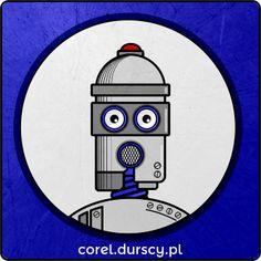 Robot  #corel_durscy_pl #durskirysuje #corel #coreldraw #vector #vectorart #illustration #creative #creativity #visualart #visualdesign #graphicdesign #art #digitalart #graphics #flatdesign #artist #inspiration #robot #humanoid #maszyna #michine #automat Coreldraw, Flat Design, Vector Art, Robot, Digital Art, Creativity, Graphics, Graphic Design, Illustration