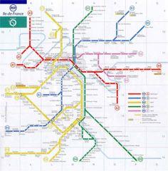 Mapa do Transporte Público em Berlim - Fonte: http://www.s-bahn ...