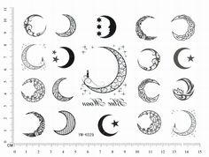 Znalezione obrazy dla zapytania small sailor moon tattoo