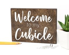 Decor Cubicle Sign Cubicle Wall Decor photo ideas from NEO Home Decor