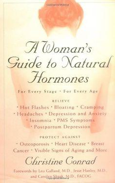 A Woman's Guide to Natural Hormones by Christine Conrad https://www.amazon.com/dp/0399525815/ref=cm_sw_r_pi_dp_x_PQr6xbFDY4WHJ