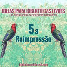 """Pessoal tem pré-venda dos nossos livros cartoneros no blog Bibliotecas do Brasil e em nossa loja online (loja.bibliotecasdobrasil.com). Tire do papel a sua vontade de montar uma biblioteca livre com as dicas tutoriais práticos e experiências que partilhamos no livro """"Ideias para Bibliotecas Livres"""" apenas 25 reais e o frete é grátis para todo o Brasil. Imperdível!  #ideiasparabibliotecaslivres #ideias #bibliotecaslivres #bibliotecascomunitarias #bibliotecasdobrasil #magnoliacartonera…"""