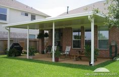 Pergola With Roof Plans Info: 3636883019 Vinyl Pergola, Pergola With Roof, Outdoor Pergola, Patio Roof, Pergola Plans, Outdoor Decor, Patio Shade Covers, Covered Back Porches, Front Porches