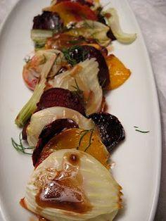 Roasted Fennel and Beet Salad!