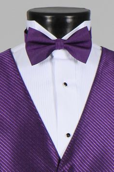 purple bow tie for ring Tuxedo Accessories, Purple Bow Tie, Ring Bear, Purple Outfits, Purple Reign, Purple Fashion, All Things Purple, Masquerade Ball, Dream Wedding