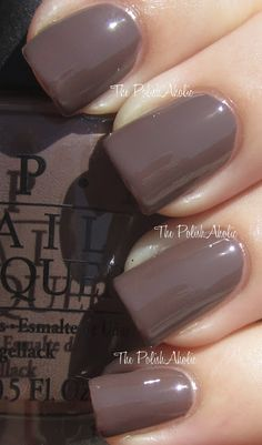 """""""You Don't Know Jacques"""" OPI is the """"revere pewter"""" of nail polish!"""