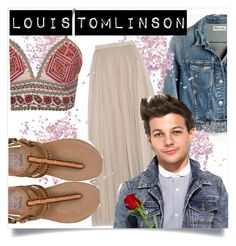 """Louis Tomlinson Style"" by lialondon ❤ liked on Polyvore featuring Madewell, Topshop, Needle & Thread, Billabong and Glamorous"