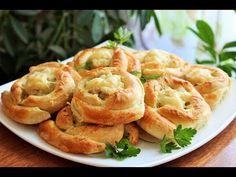 Пирожки с курицей и картофелем из слоеного теста - Простые рецепты Овкусе.ру