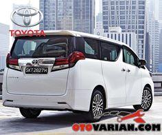 Toyota Alphard body belakang