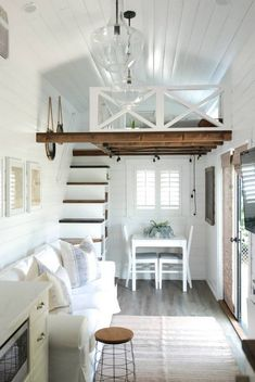 Tiny House Listings Tiny Houses For Sale and Rent tinyhouses Beautiful THOW &; Tiny House for S&; Tiny House Listings Tiny Houses For Sale and Rent tinyhouses Beautiful THOW &; Tiny House for S&; Acani […] Homes For Sale 2 bedroom Tiny House Loft, Tiny House Plans, Cabin With Loft, Tiny House Office, Loft Home, Two Bedroom Tiny House, Tiny Loft, Tiny House Stairs, Best Tiny House