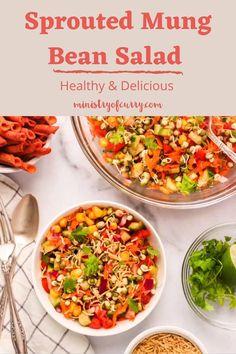 Salad Recipes Healthy Vegetarian, Salade Healthy, Salad Recipes Healthy Lunch, Healthy Indian Recipes, Spicy Recipes, Beans Salad, Chaat Recipe, Lime Juice, Cilantro