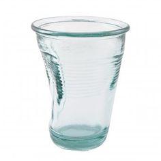 #tumbler #bend #knickglas #glas #details Glas Knickglas von details – originelles Trinkglas mit individuellem Knick