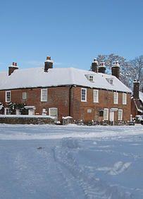 #JaneAustenHouseMuseum #winter #snow #janeausten