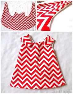SUPER SIMPLE SEWING PROJECT! >> Make this little girls dress or tunic... and it's easily made to be reversible! Pattern for size 2T up to 5/6 {Reality Daydream}