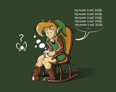 No me lamo Zelda