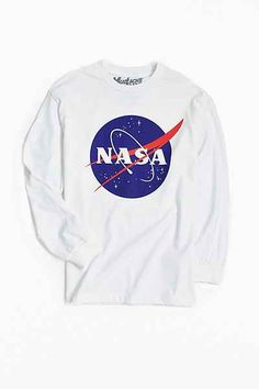Movie + TV Show T Shirts - Urban Outfitters Nasa Clothes, Shirts For Teens, Movie T Shirts, Personalized T Shirts, Cosmos, Urban Outfitters, Long Sleeve Shirts, Stamps, Sweatshirts