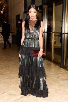 Genevieve-Jones-made-elegant-entrance-tiered-lace-gown