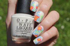 Nail art May – May Flowers (Inspired by Wondrouslypolished)