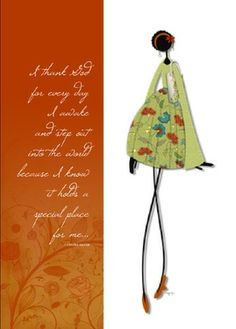 Created by Cynthia Martin -   From the Wire Lady Collection - Inspiration to stand tall and be true to one's self. Have fun with this one.  The background and words can be changed. www.cynthiamartindesigns.com