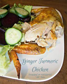 Ginger Turmeric Chicken