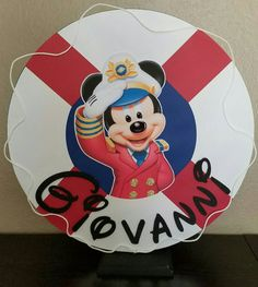 Sailor Mickey Mouse by Invitesetc2015 on Etsy
