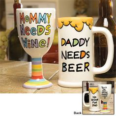 To make for mommy and daddy