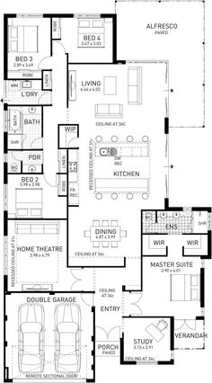 Eagle Bay, Single Storey Display Floor Plan, WA