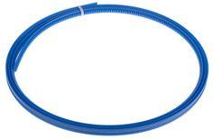 Acquista Cremagliera flessibile RS Pro, modulo 0.8, 795 denti, dimensioni 2000mm x 3.8mm, altezza foro 0.7mm, in POM