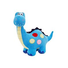 TOLLION Cuddly Soft Stuffed Animal Toy Blue Dinosaur Doll 17 Cushion Plush Doll Valentine Gift New Baby Gift Girlfriend Children and Friends Gifts >>> Find out more about the great product at the image link.