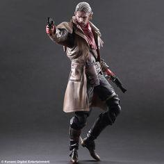 Metal Gear Solid V The Phantom Pain Play Arts Kai figurine Ocelot Square-Enix